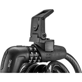 ABUS Tresor 6512C SR Candado Cable Espiral 180cm, negro